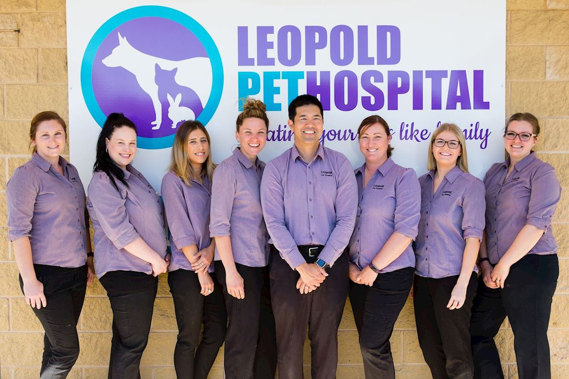 The Leopold Pet Hospital Team